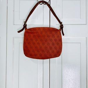 Vintage Dooney & Bourke Orange Handbag